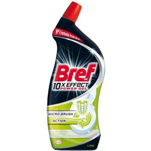 BREF WC 10xEFFECT ŻEL 750ML LIME