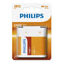 BATERIA PHILIPS 3R12 LONGLIFE