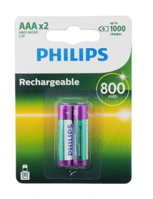 AKUMULATOR PHILIPS R03 AAA 800mAh A'2