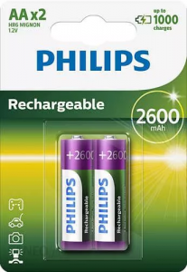 AKUMULATOR PHILIPS R6 AA 2600 mAh A'2