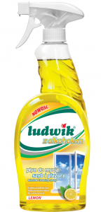 LUDWIK PŁYN DO SZYB LEMON 750 ML